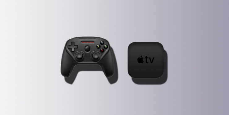 2020 Apple TV with game controll
