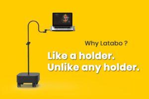پایه نگهدارنده لپ تاپ پروتیبل مدل Latabo L1