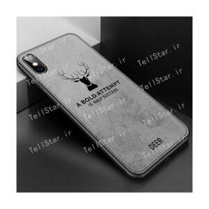 قاب محافظ طرح گوزن آیفون Berlia Deer Case Apple iPhone XS