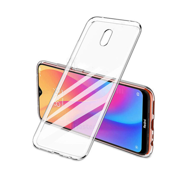 1Clear Jelly Case For Xiaomi Redmi 8A 02