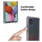 قاب ژله ای سامسونگ Samsung Galaxy A71 COCO Clear Jelly