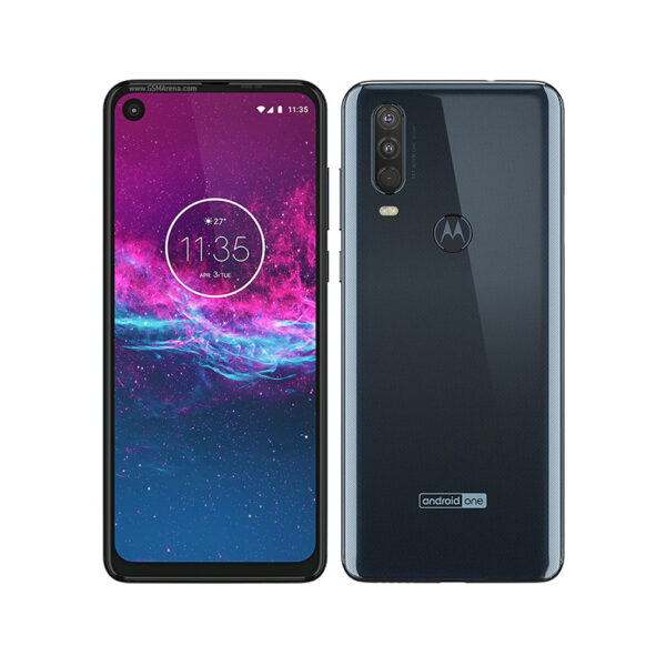 motorola one action denim gray