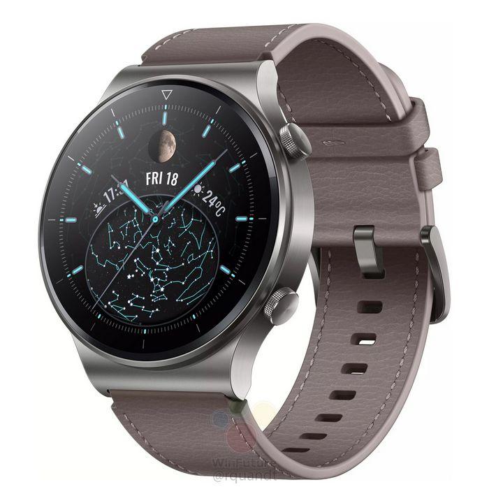مشخصات ساعت هوشمند هواوی واچ GT2 Pro فاش شد