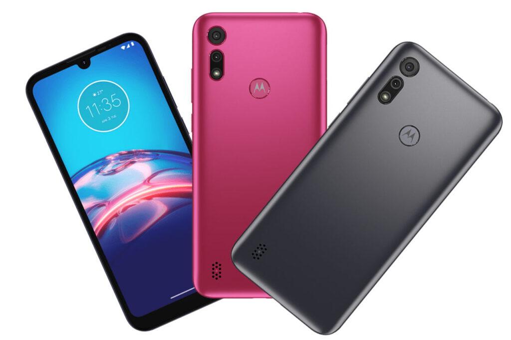 Motorola Moto E6i Titanium Gray Pink