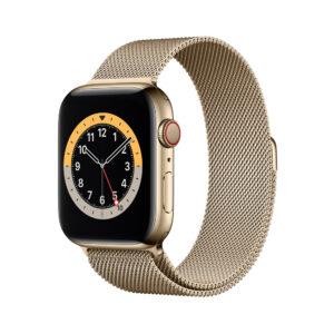 Apple Watch Series 6 44mm Milanes Black - ساعت اپل سری ۶ ۴۴ میلیمتر