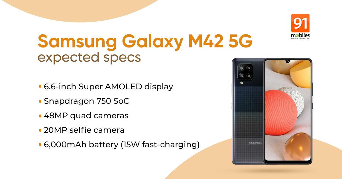 Samsung Galaxy M42 5G 1